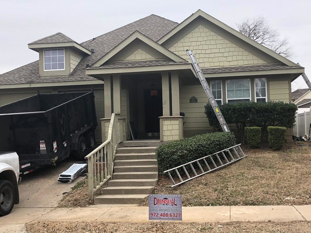 Roof repair in Dallas, TX | Dimensional Pro Roofing Company