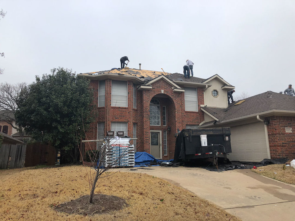 Roof installation in Lewisville, TX | Dimensional Pro Roofing Company