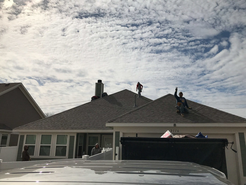 Restored roof in Denton, TX | Dimensional Pro Roofing Company