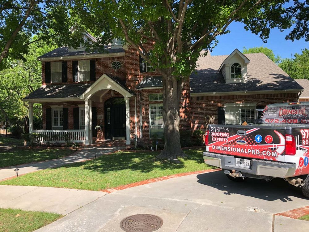 Roof Job in Roanoke, Texas  | Dimensional Pro Roofing Company