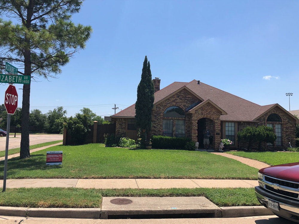 Roof in Lewisville, Texas  | Dimensional Pro Roofing Company