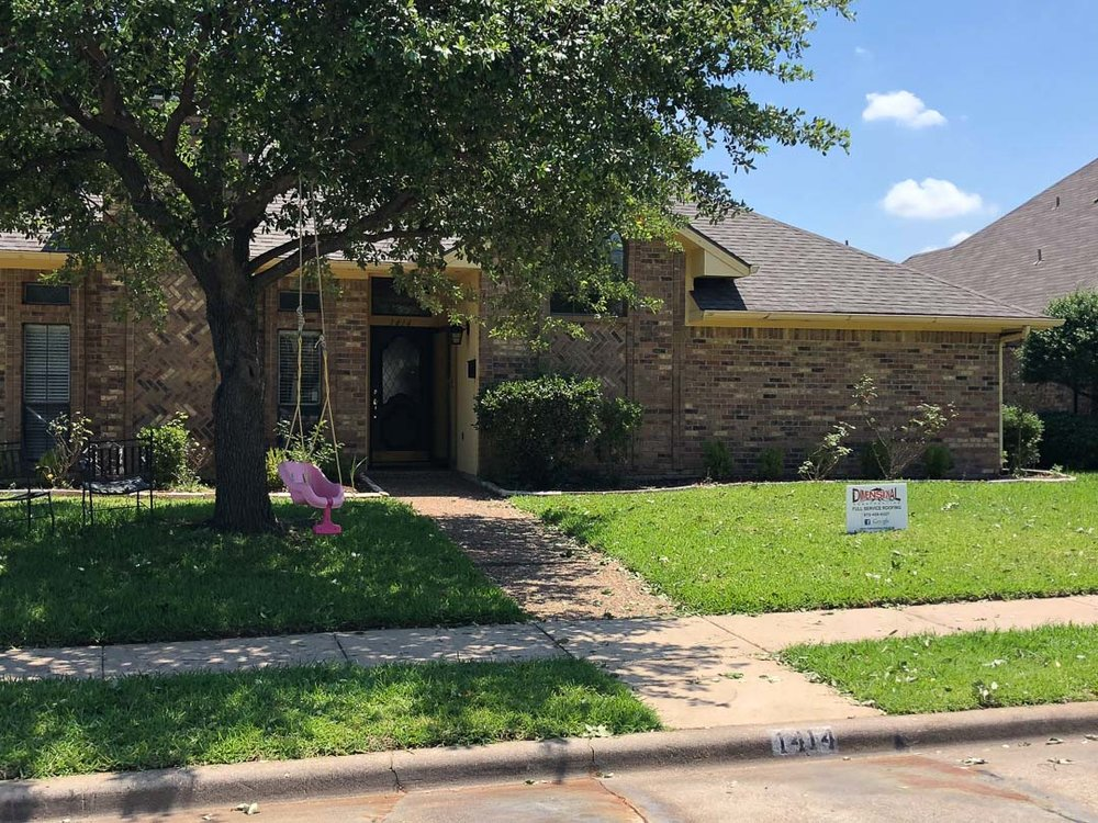Re-Roof done in Euless, Texas  | Dimensional Pro Roofing Company