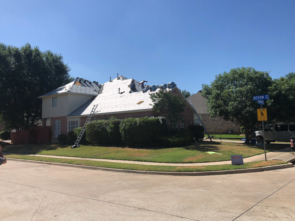 Storm Damage Restoration in Denton, Texas | Dimensional Pro Roofing Company