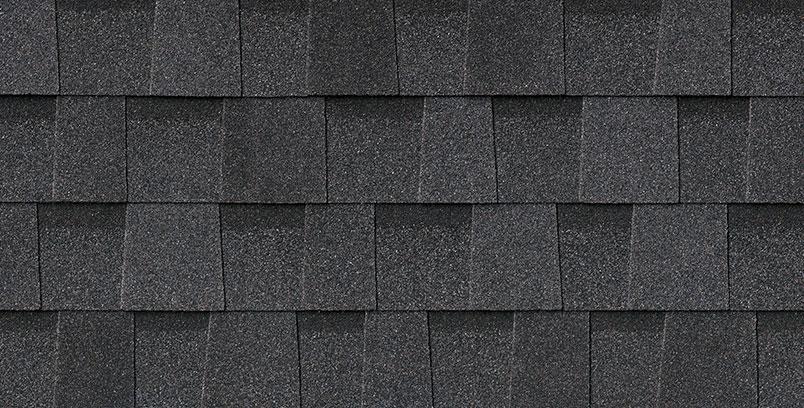 Pristine Black Architectural Shingle
