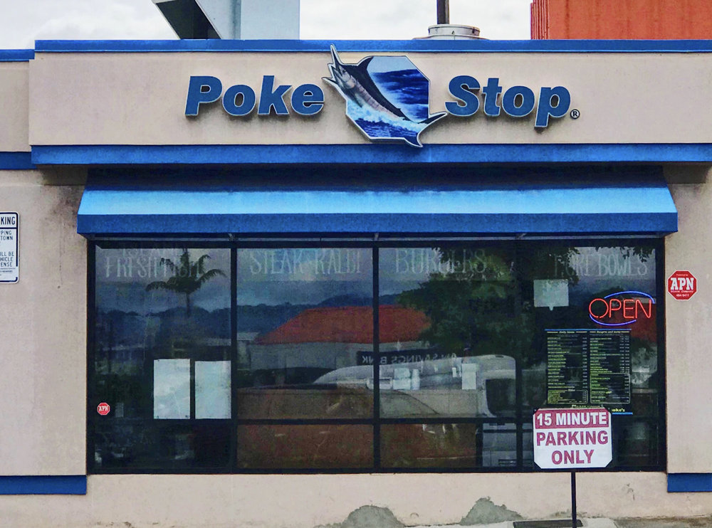 Poke Stop Waipahu, 94-050 Farrington Hwy