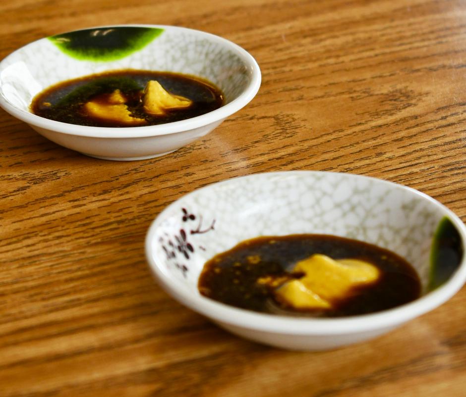 Chinese Hot Mustard and Shoyu