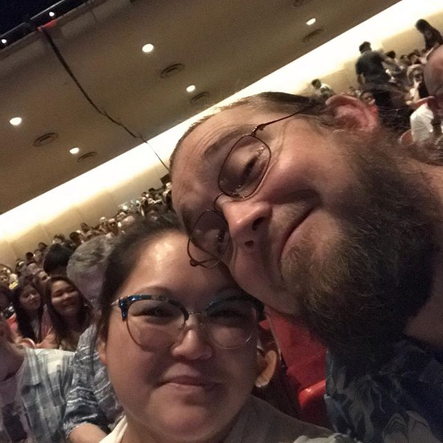 Tried 3 times to get a good pic of the wife and I at #harrypotterinconcert. 🤦🏻‍♀️ Enjoying a much needed #datenight. #kidfree #prisonerofazkaban