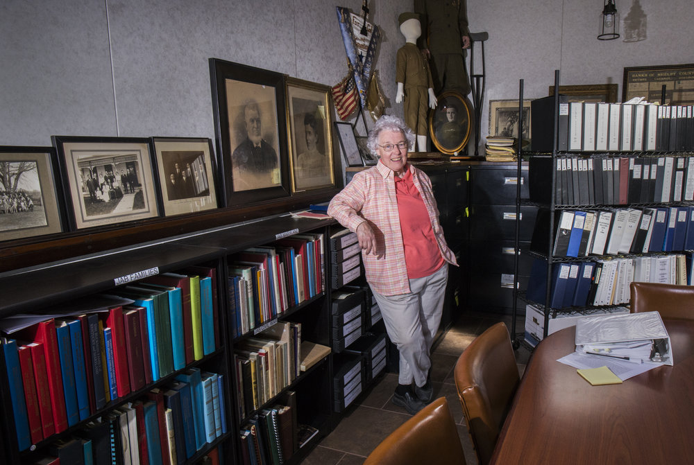 Kathleen Wilham, Shelby County Historical Society Museum