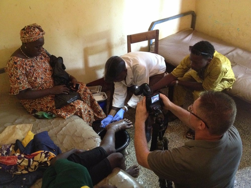 Ray Morgan, Leslie Boyer, and Jean-Philippe Chippaux spent time in Guinea and Benin working with local healthcare providers to develop a series of training videos with the  African Society of Venimologie  on snakebite treatment for distribution to medical professionals throughout sub-Saharan Africa.