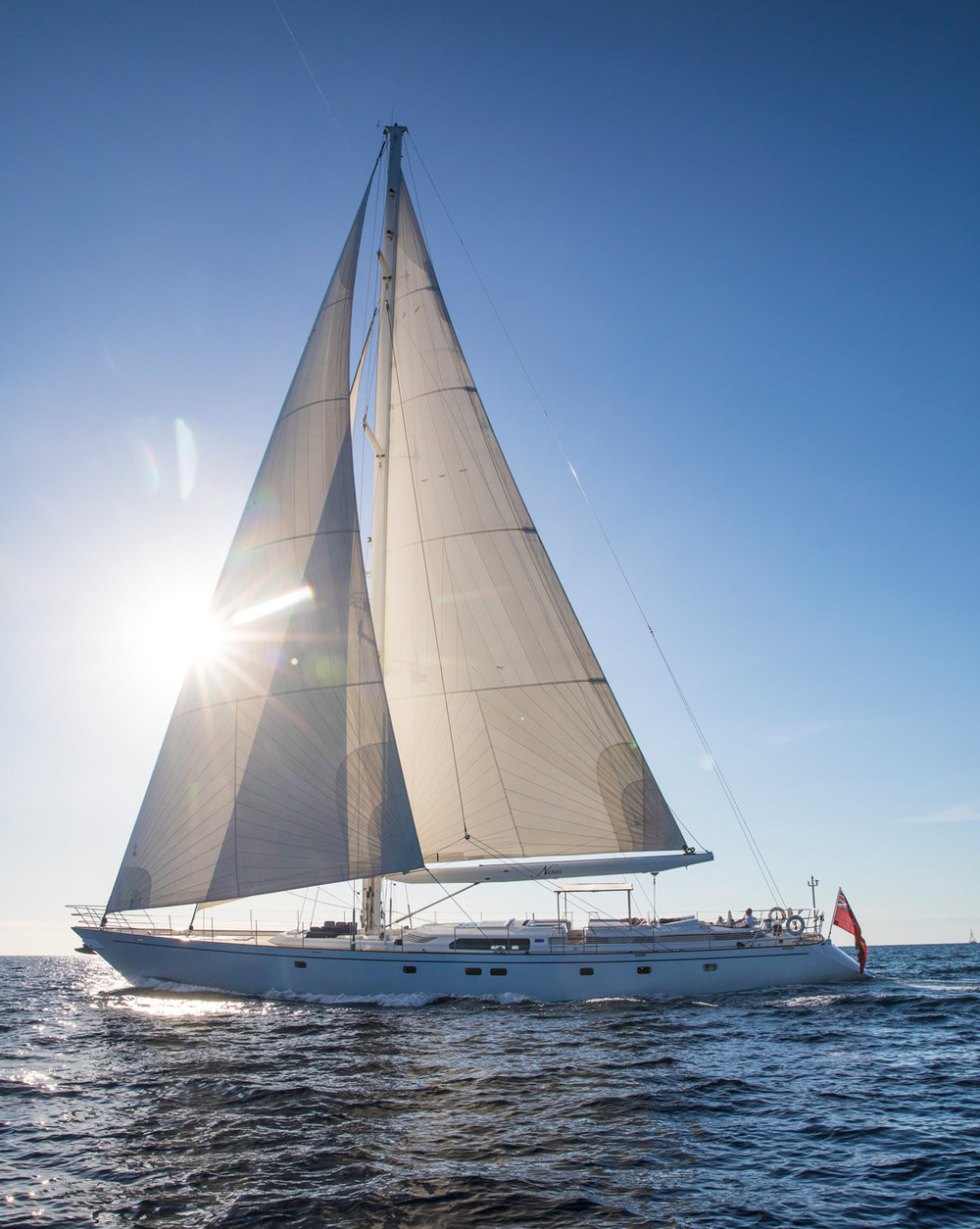 Naos - the perfect private sailing yacht