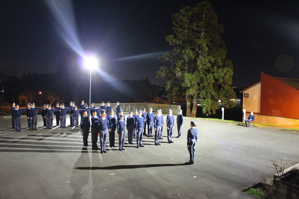 Unit Parade Night
