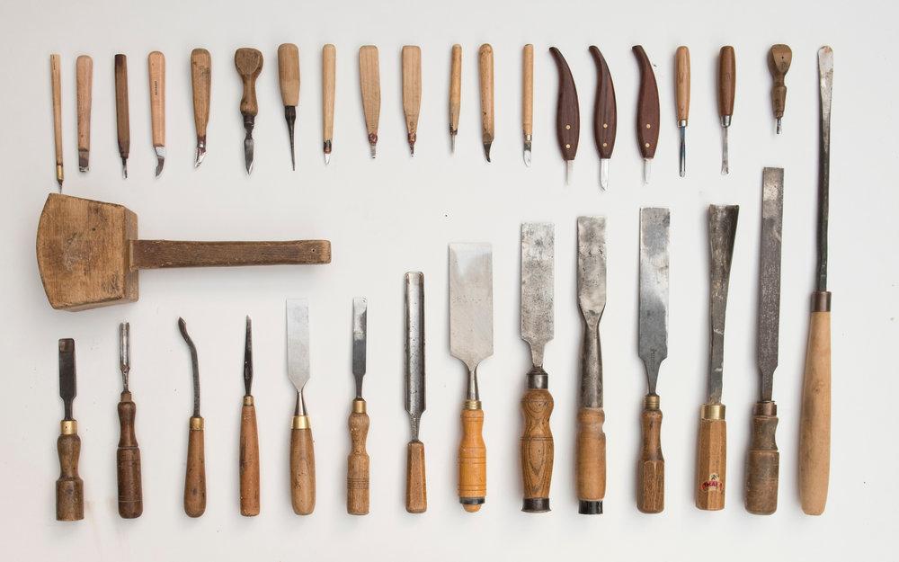 chisels 1 - Image Graeme Hunter