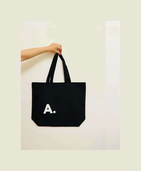 Monogram Tote Bag, BYKI designs