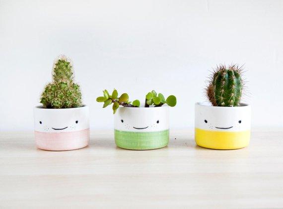 Ceramic planter, Noe Marin