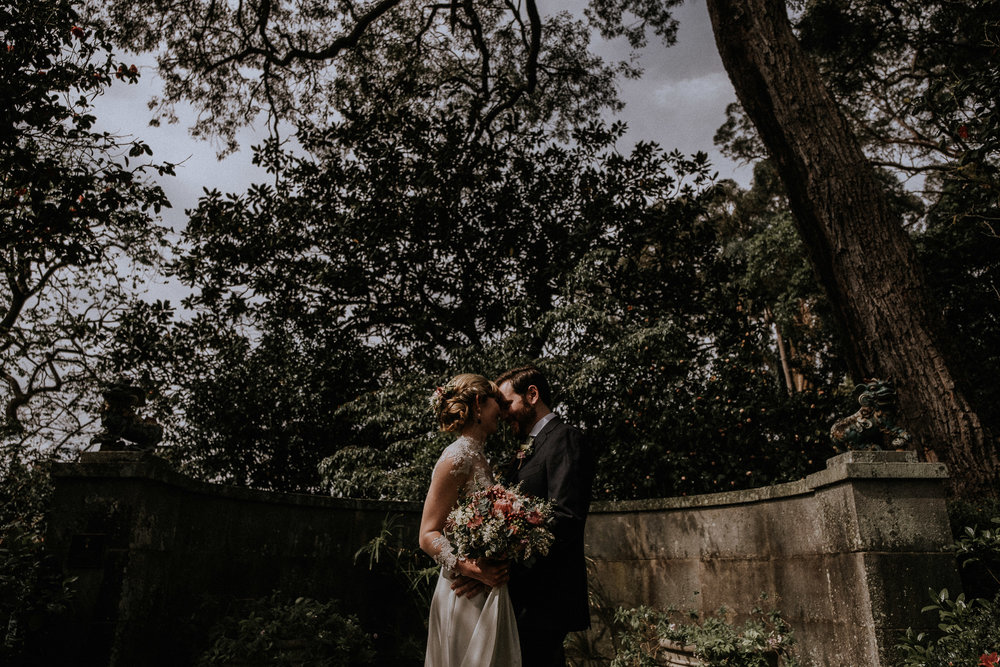 Rose & Mike garden wedding in Sydney