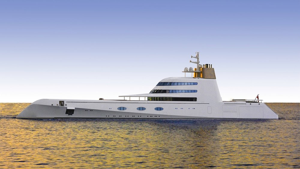 I am a superyacht - Designer