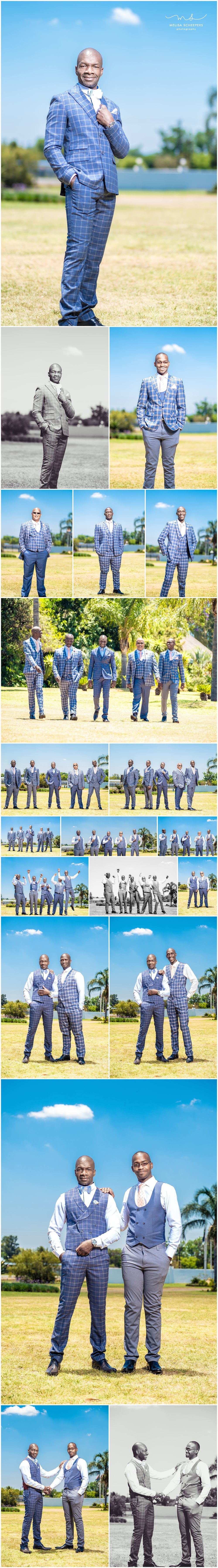 Abie and the groomsmen