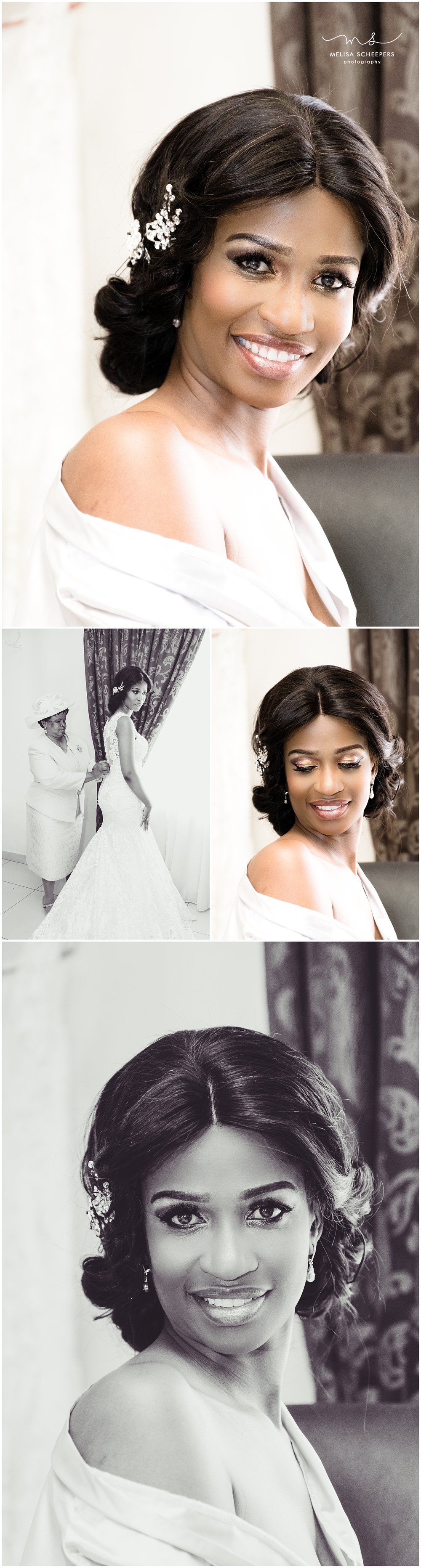 Stunning bride Dikeledi