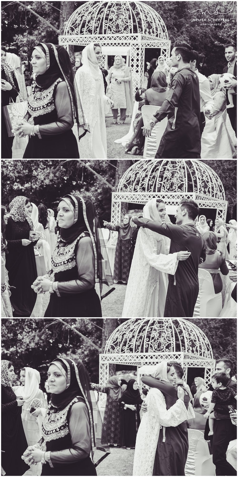 AFTER THE NIKKAH THE COUPLE SAW EACH OTHER FOR THE FIRST TIME