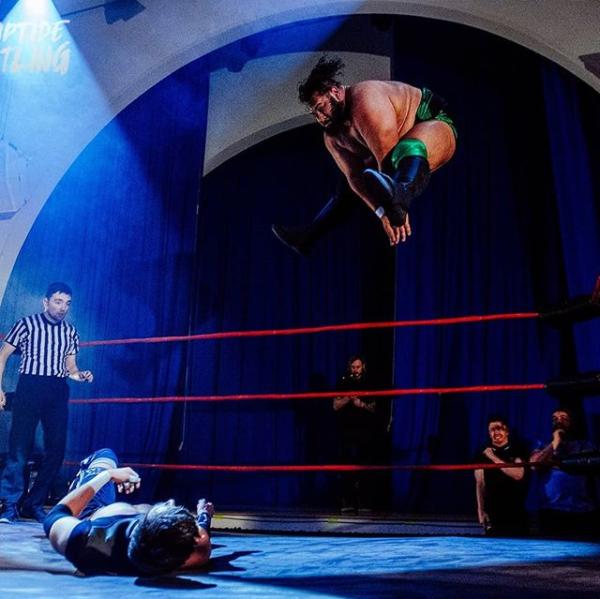 Nobody gets up from Jonah Rock's devastating 'BattleToad'  (photo: Head Drop)