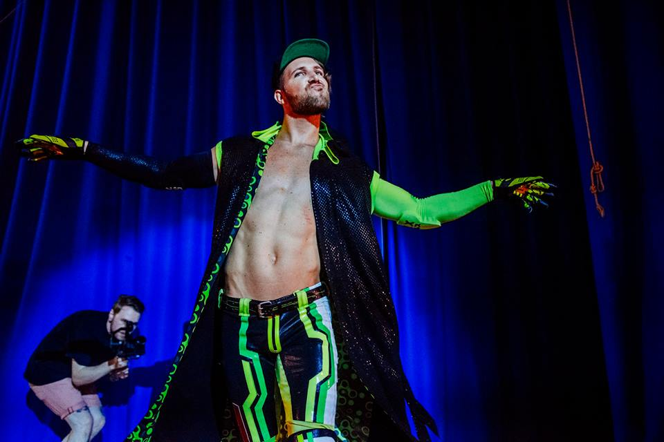 Angelico makes his debut at the Brighthelm Centre (photo: The Head Drop)