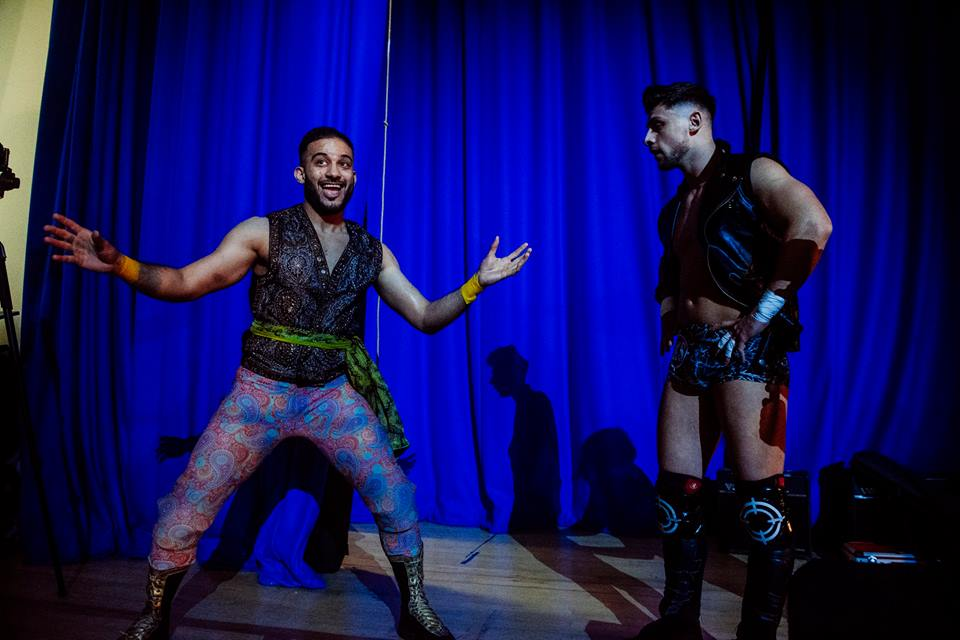 Amir Jordan debuts as Kip Sabian's surprise tag partner (photo: The Head Drop)