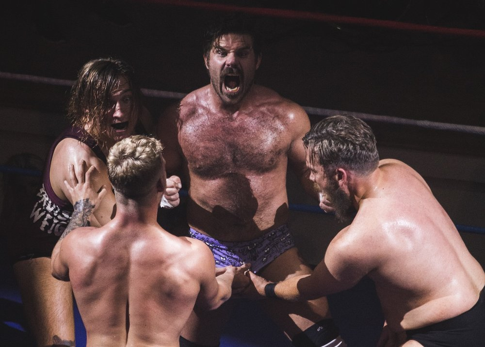 Joey Ryan's unbelievable penis power overcomes British Strong Style at RIPTIDE Returns (photo: Jack Smethers)