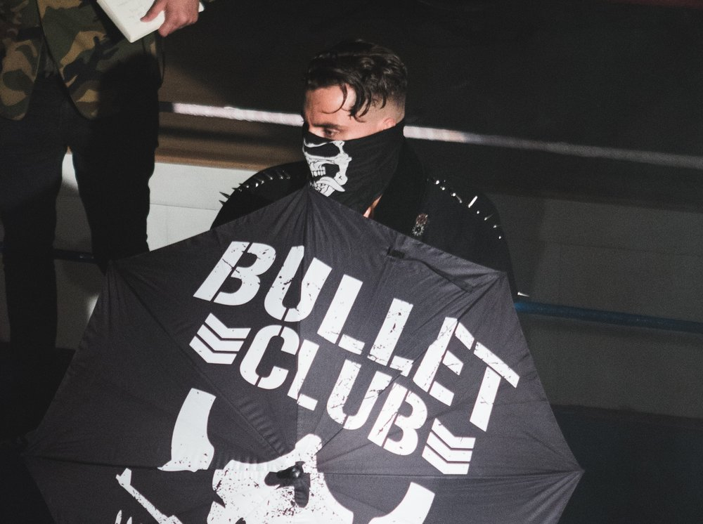 Marty Scurll wrestled in Brighton just after joining the famous Bullet Club faction (photo: Jack Smethers)