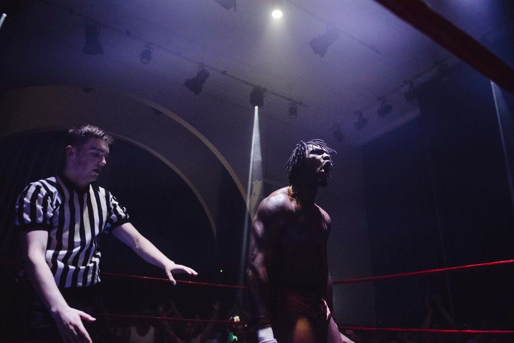Shane Strickland emerges victorious over Will Ospreay in the first RIPTIDE main event  (photo: The Head Drop)