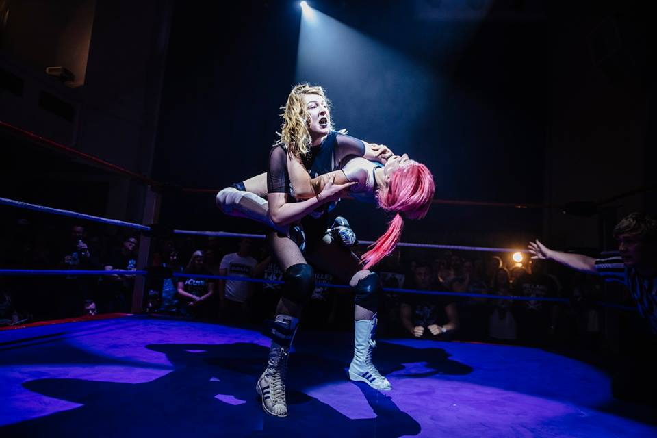 Dahlia Black had two memorable contests with Candy Floss at RIPTIDE (photo: The Head Drop)