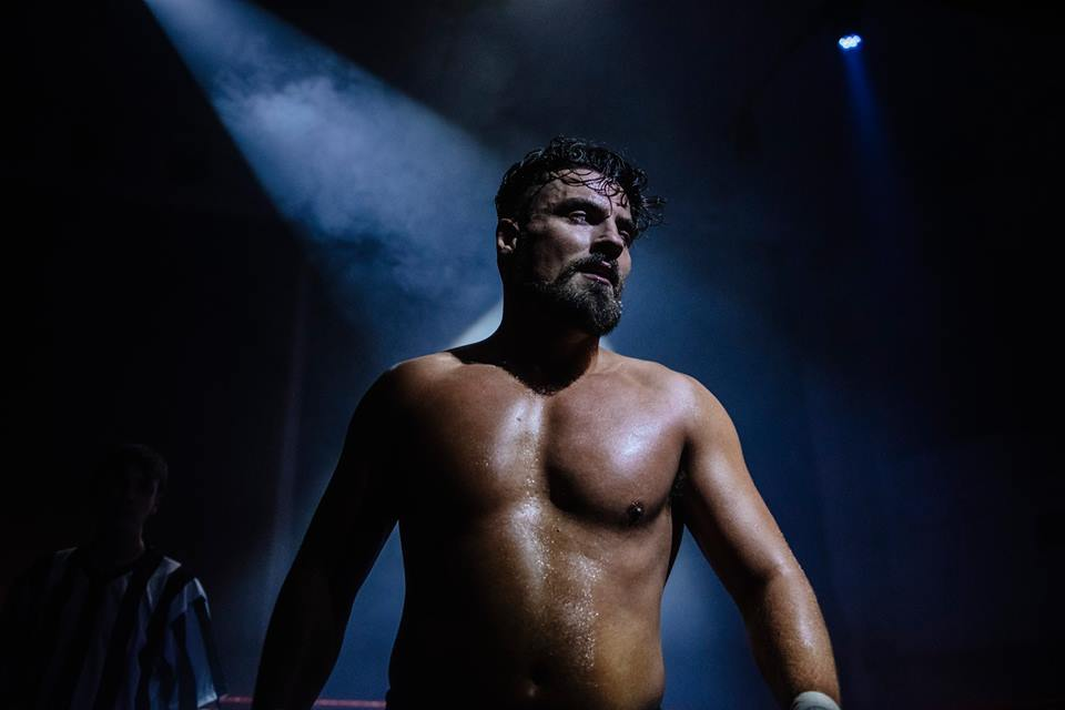 Marty Scurll during his contest with Jimmy Havoc (photo: The Head Drop)