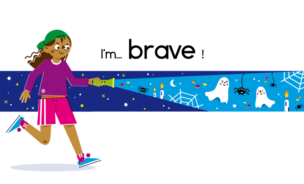 Brave - Vector Illustration © Emeline Barrea, All rights reserved