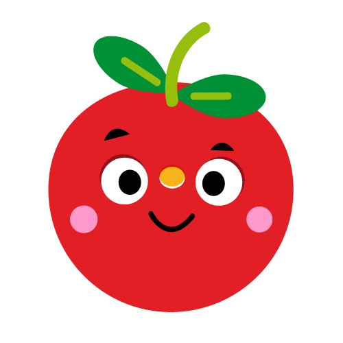 Apple - Vector Illustration © Emeline Barrea, All rights reserved