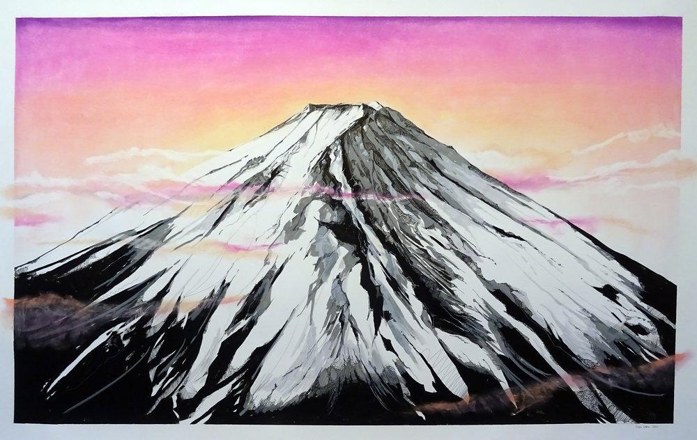 Mount Fuji, Japan SOLD