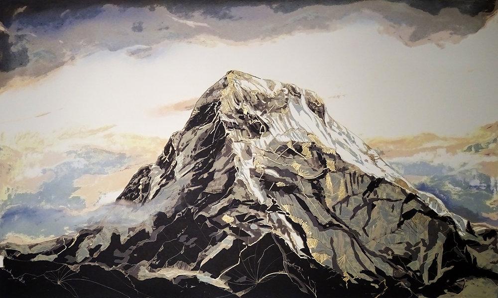 Mount Everest Screenprint AVAILABLE