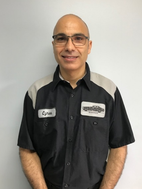 Cyrus Momtahan - Lead Technician