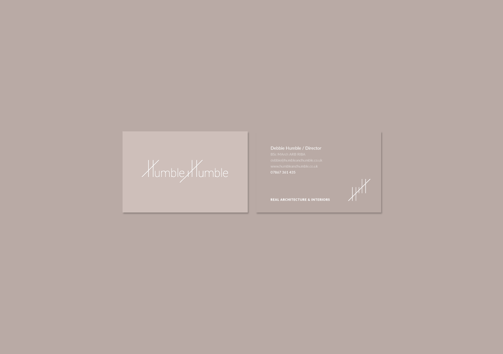 Architecture & interiors business card design