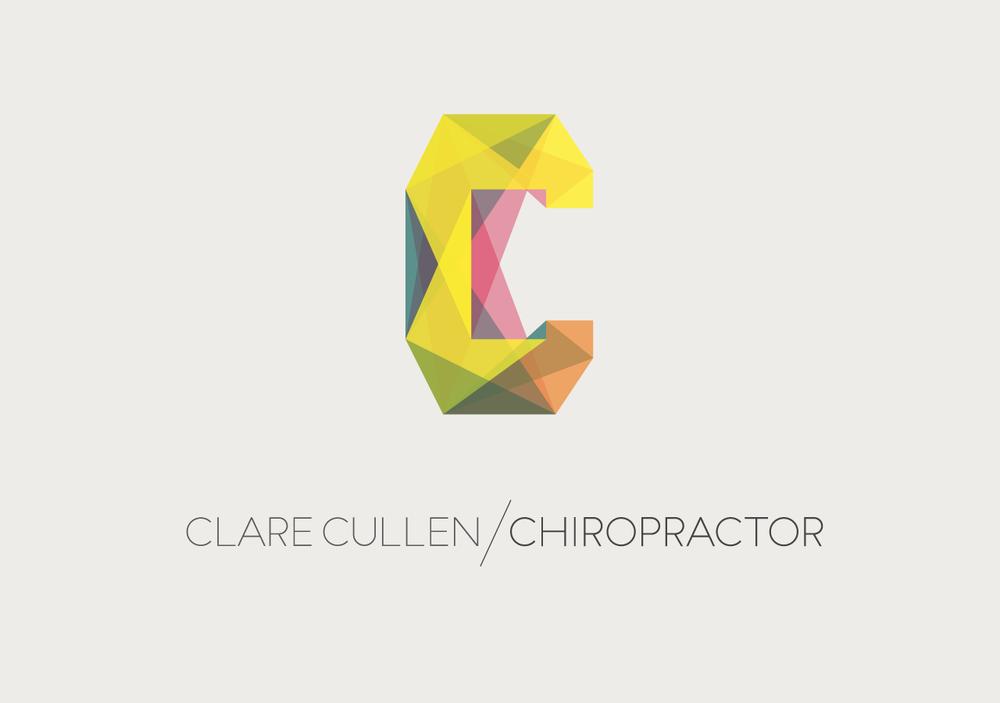 Chiropractic logotype