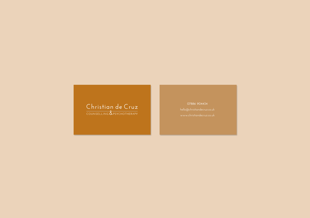 Christian de Cruz business card