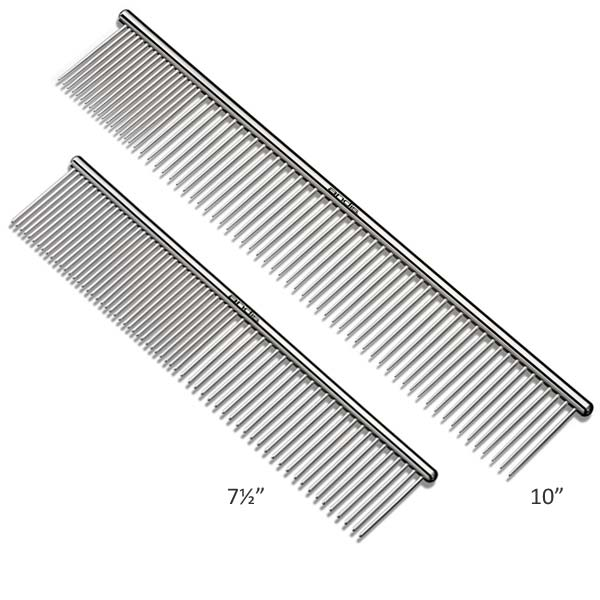 Andis Steel Combs - Steel Combs showcase the same top-notch quality and craftsmanship for which Andis has long been known.Made of strong steel for unmatched durabilityRemoves tangles, dirt, and loose hairIdeal for cats and dogs of all sizes.