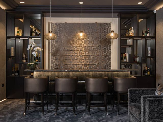 A bespoke home bar we designed. Perfect for entertaining, especially during the festive season.  #interiordesigner #interiorarchitecture #classiccontemporary #contemporaryinteriors #furnituredesign #home #interior123 #homedecorinspo #instahome #luxuryinteriors #bespoke #interiordesign #leeaustindesign #joinery #bar #bardesign #movienight #homecinema #interiordesignbelfast