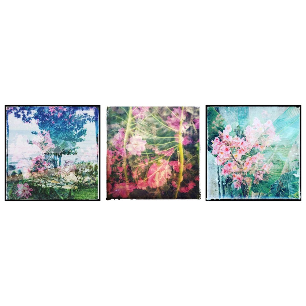 The above three pieces will appear in the 50/50 show at Queen Gallery