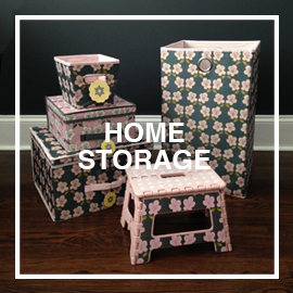 HDS TRADING - Home storage including, shoes caddies, laundry bins, storage boxes and cosmetic travel bags. Kitchen accents including step stools, garbage pails, cutting boards and serving trays.
