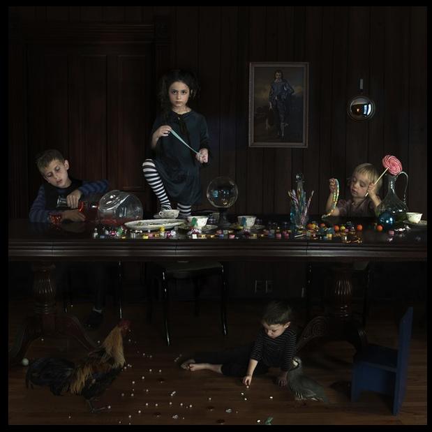 JB Children at table