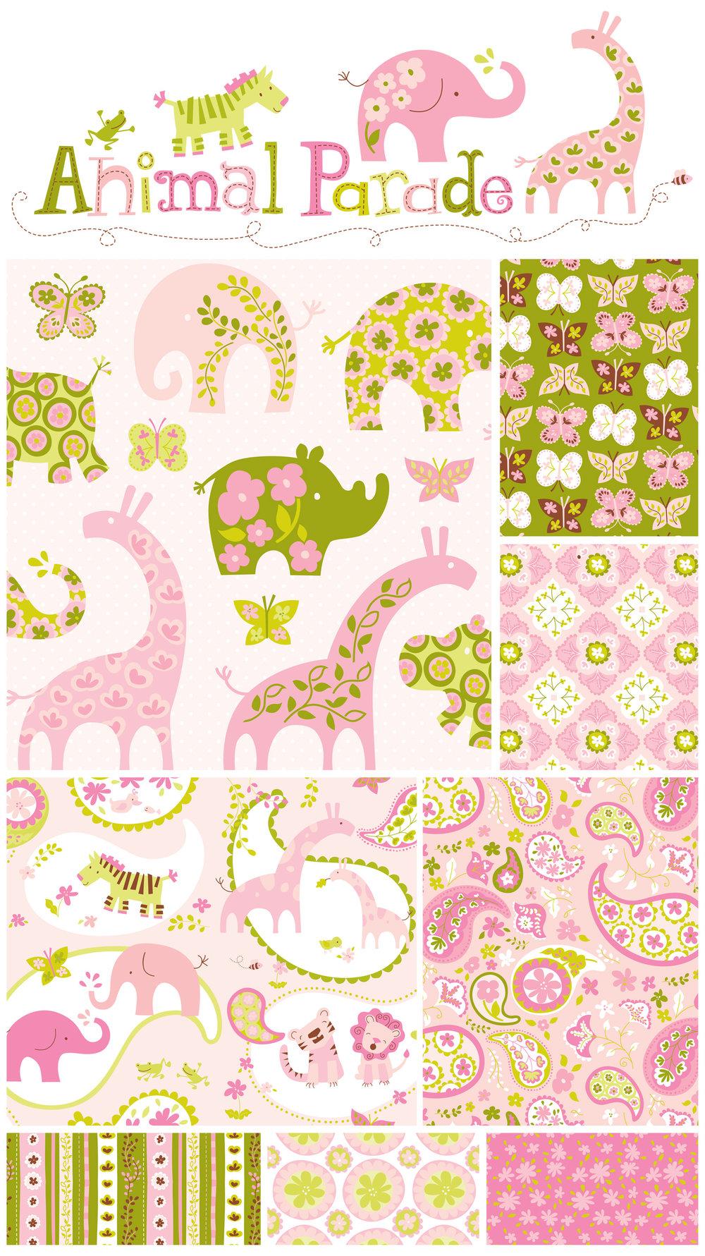 Animal Paisley Pink