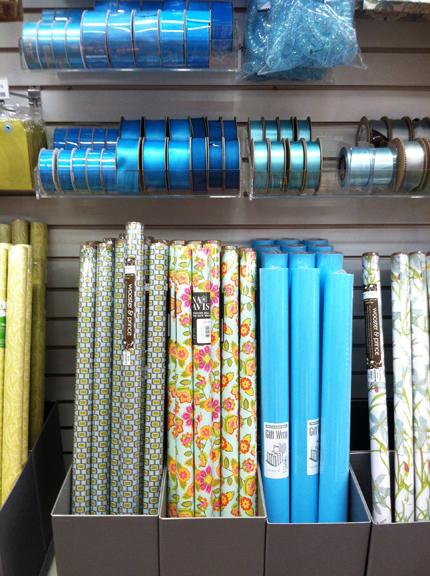 Container Store Gift wrap2