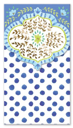 Pocket Notepad Indigo Eye