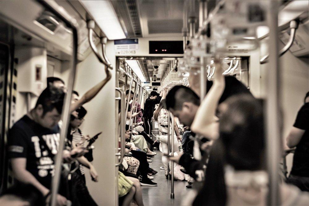 blue line subway network, changsha © grassbek