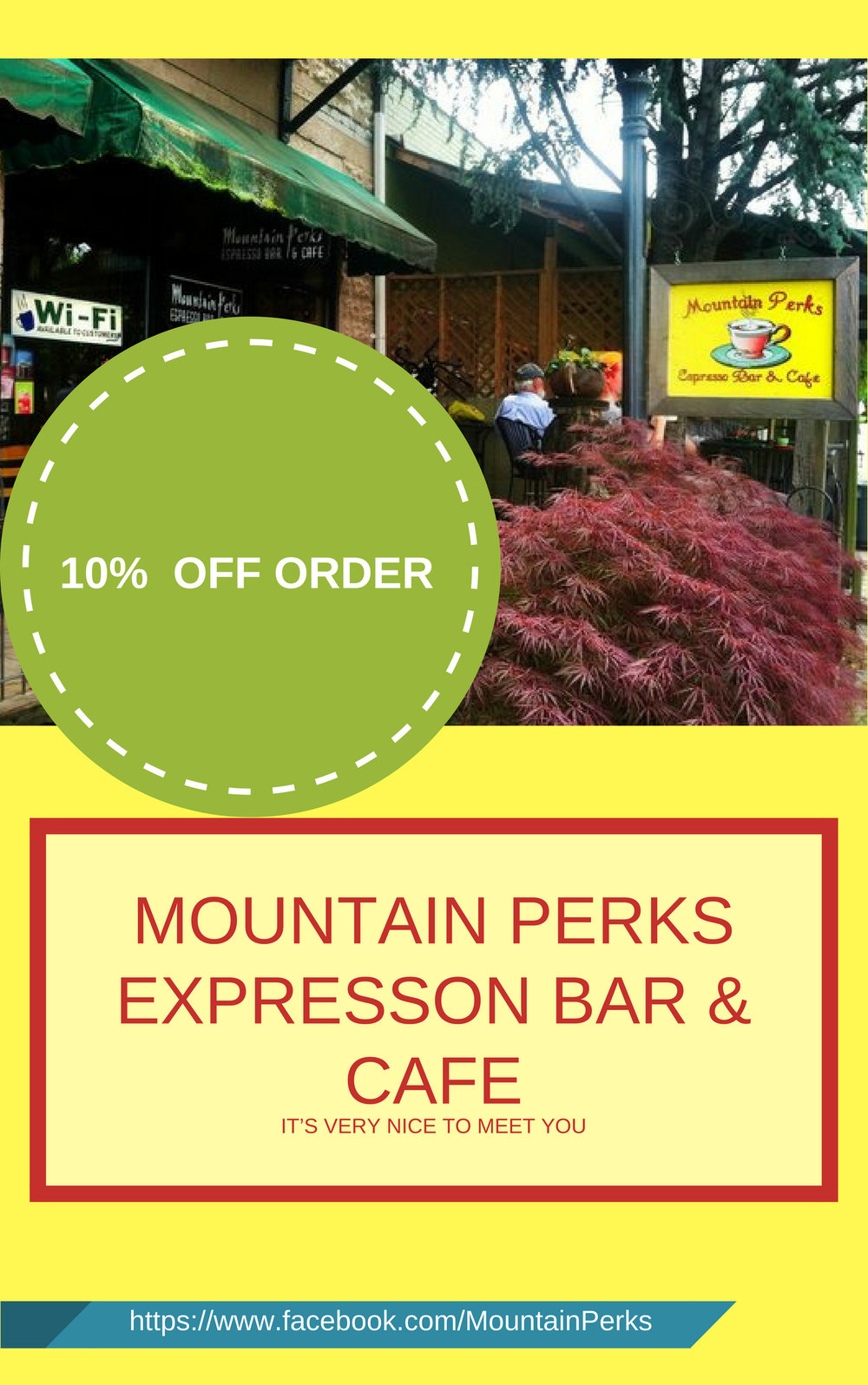 Mountain Perks 10% OFF Order