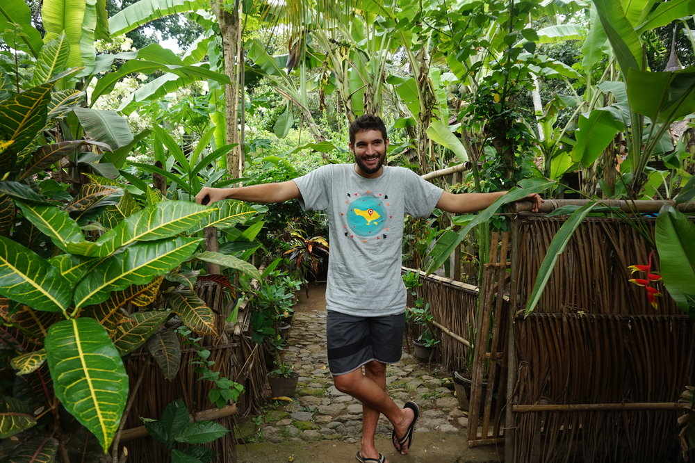 chilling in the Balinese jungle between intensive sessions is part of the deal.